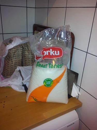 Cukor+cukor-cukor+és minden ami jó, és így születtek meg a jó... aşure-k