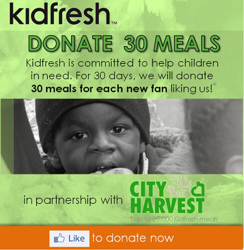 Help City Harvest and Kidfresh Fight Hunger In NYC!