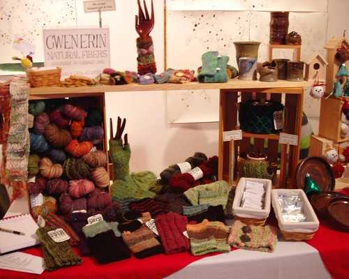 craft sale booth