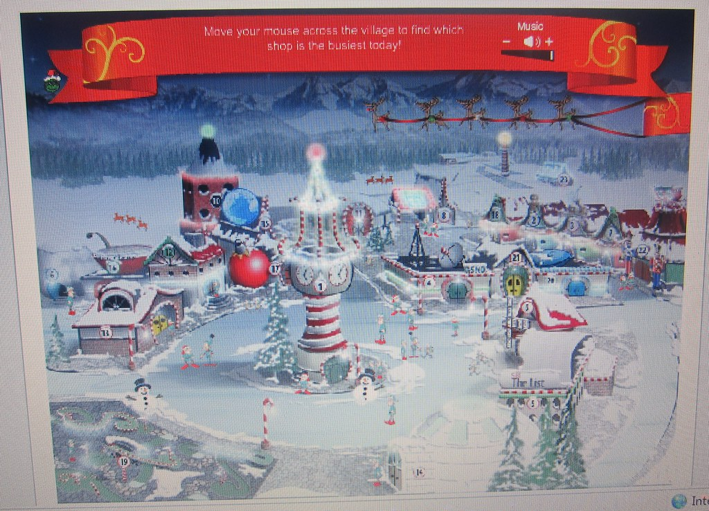 Advent - Day 2 - Check Where Santa Is and Play Games