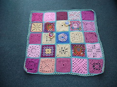 Thanks to everyone that has contributed Squares for this Blanket. I loved them!