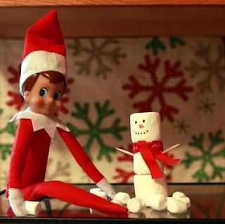 {Elf on the Shelf} Day 10