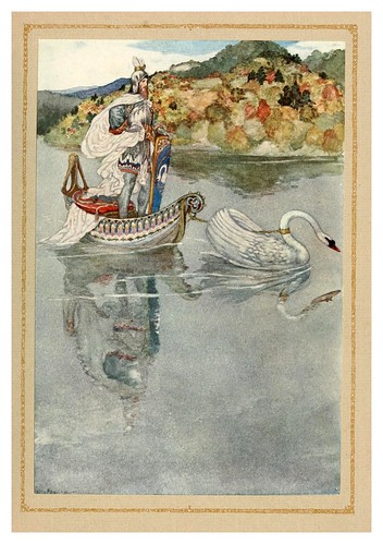 035- The tale of Lohengrin knight of the swan..1914 - ilustrado por Willy Pogany