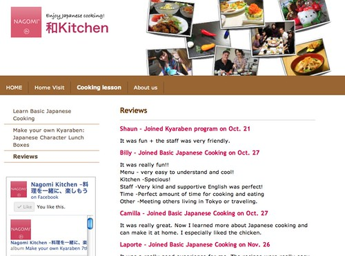 Reviews - Nagomi Kitchen -Enjoy Japanese cooking!