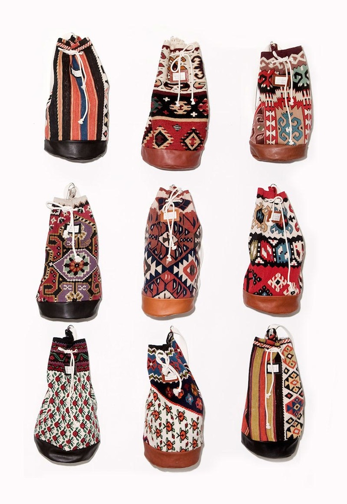 The Kilim Project carpet bags 4
