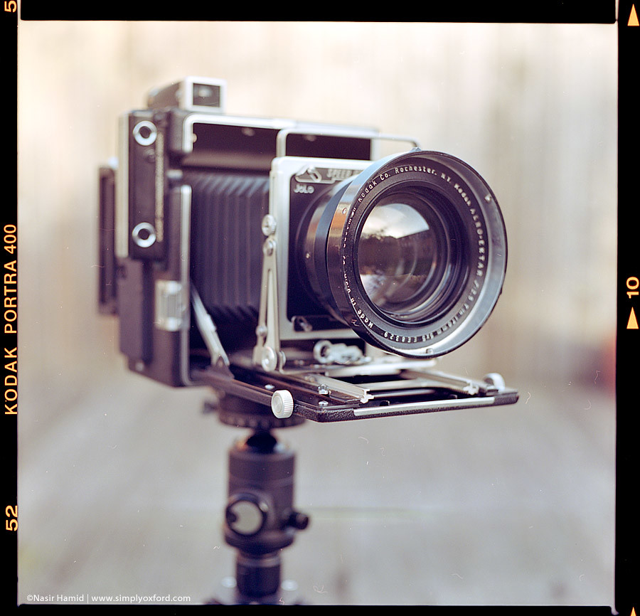 Speed Graphic with Aero Ektar lens