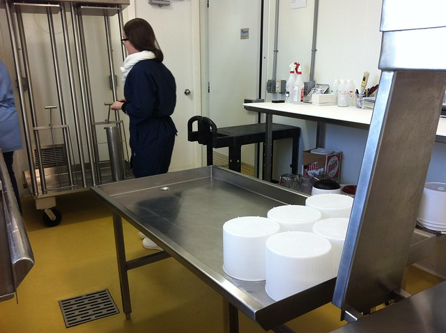 Cheesemaking room