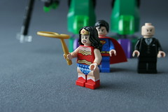 6862 Superman vs Power Armor Lex - Wonder Woman 4