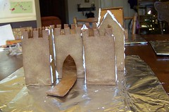Castle undecorated