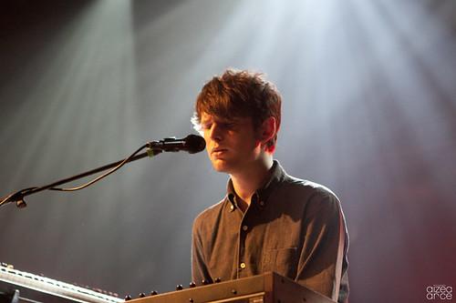 James Blake, Jueves 8 de Diciembre 2011, Razzmatazz (Barcelona)