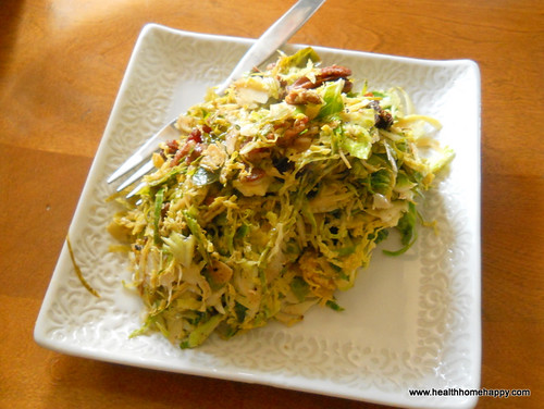Brussels Sprouts Slaw Paleo Comfort Foods