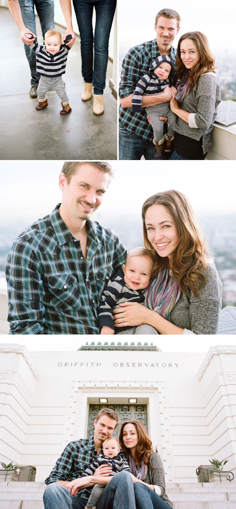 Autumn Resser and Jesse Warren Family Photos at Griffith Observatory 0009