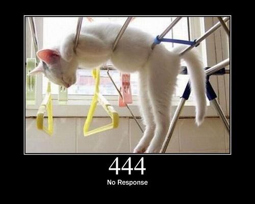 444 no response