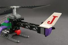 6863 Batwing Battle Over Gotham City - Joker's Helicopter 4