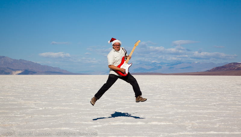 Rocking out at Badwater I