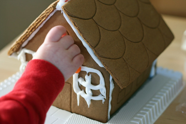 1st Gingerbread House