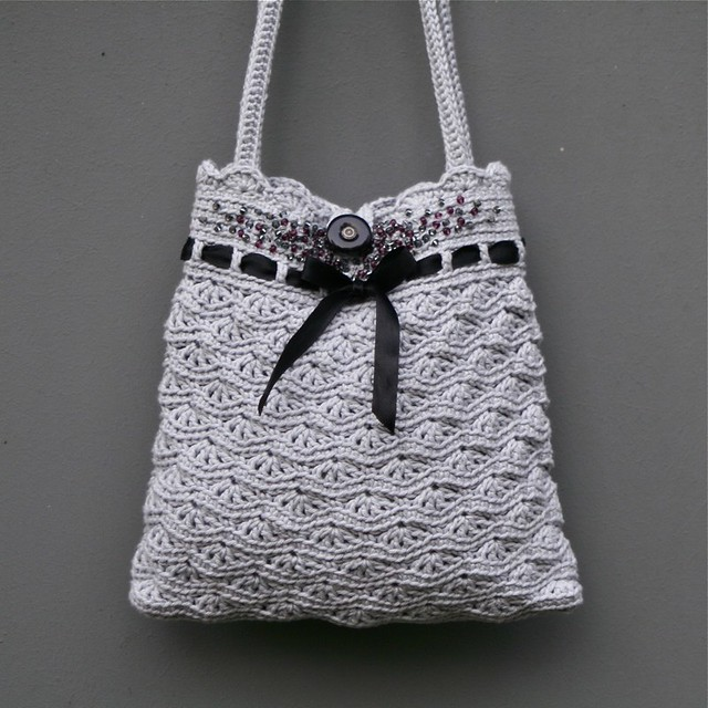 Crochet Small Bag : bags & purses - 4 - a gallery on Flickr