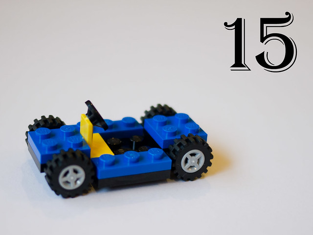 LEGO City Advent Calendar - Day 15: The car chassis