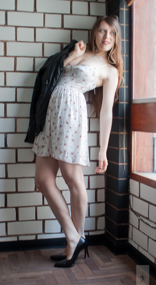 Floral Dress Look 06