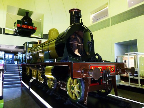 Steam Locomotive 1894 at Riverside Museum