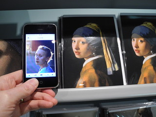 Tanja Lundqvist and the Girl with the Pearl Earring