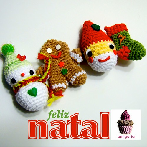 Amigurumi Natal by Amiguria by Amiguria