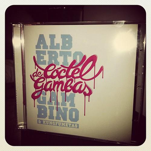 "Ya tengo ""Coctel de Gambas"" de Alberto Gambino!!! :D"