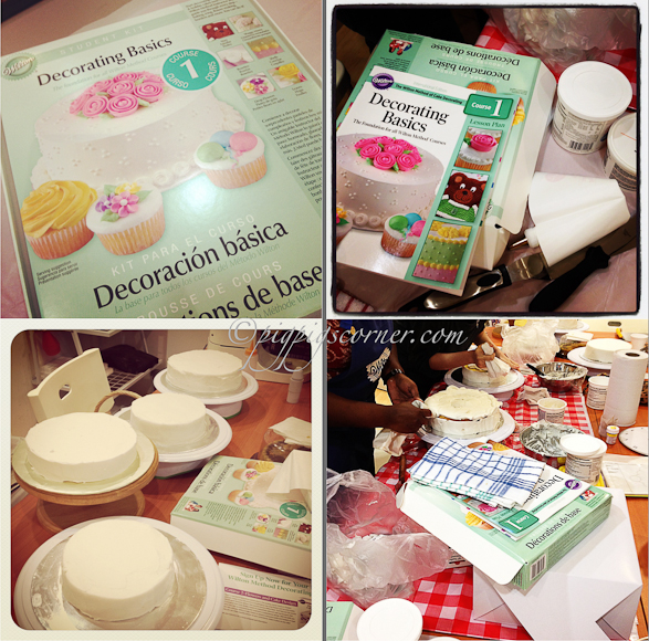 Wilton Method of Cake Decorating Course 1