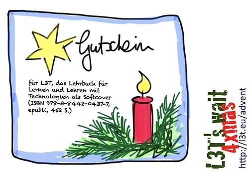 Advent mit L3T: Gutschein für die Softcover-Ausgabe