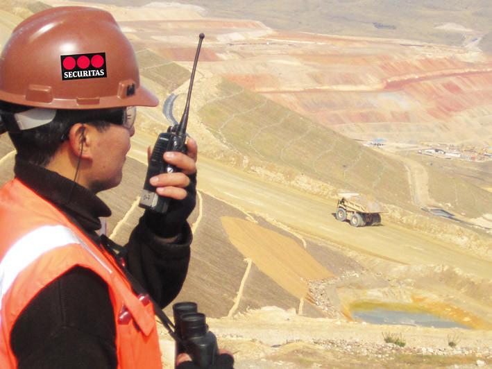 Securitas Perú cumple 20 años brindando el importante servicio de seguridad a Minera Yanacocha.