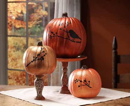 Martha Stewart Pumpkin Centerpiece