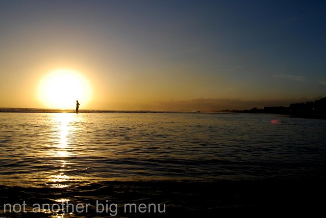 Bali - Kuta Beach sunset