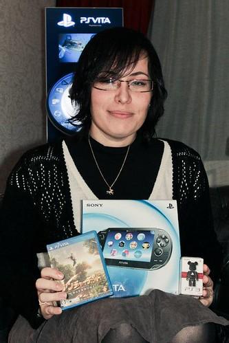 Gagnant PS Vita PlayStation France