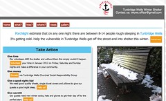 tunbridge wells winter shelter screenshot