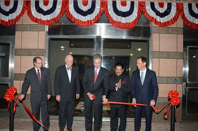 Inauguration of U.S. Consulate General Mumbai, with Deputy Secretary of State William Burns