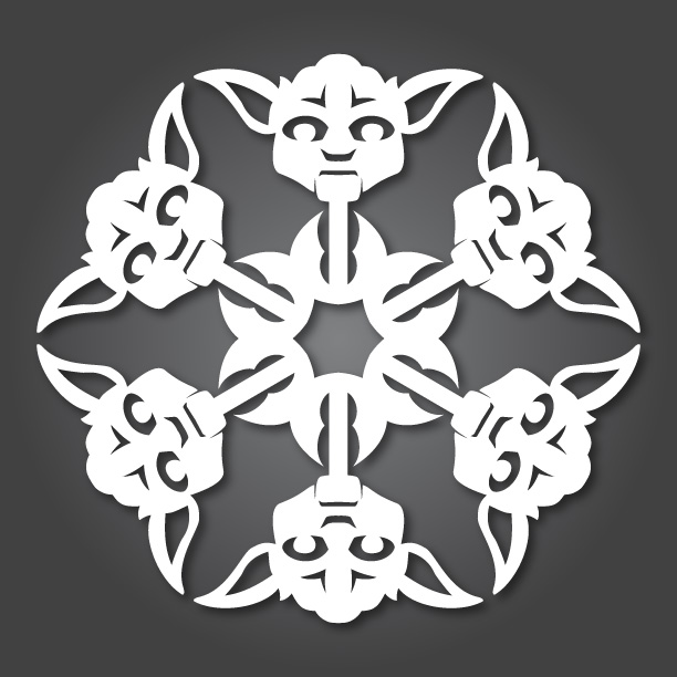 Floco de neve - Star Wars - Natal