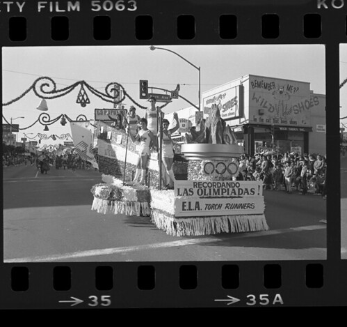 East LA Christmas parade, 1984