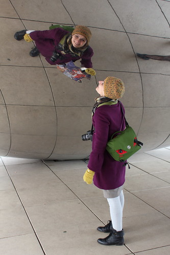 20111223. the bean, the holidays.