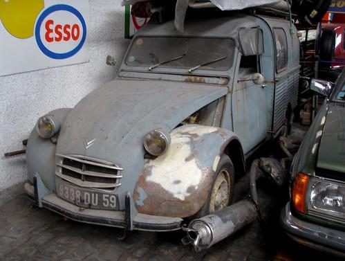 Citroen 2CV camionnette by gueguette80