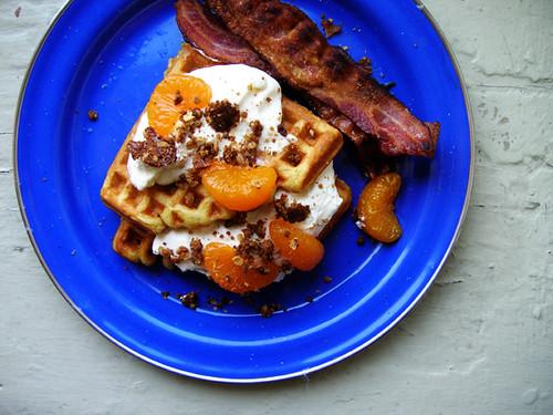 orangen waffles