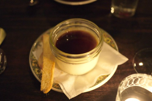 affogato panna cotta
