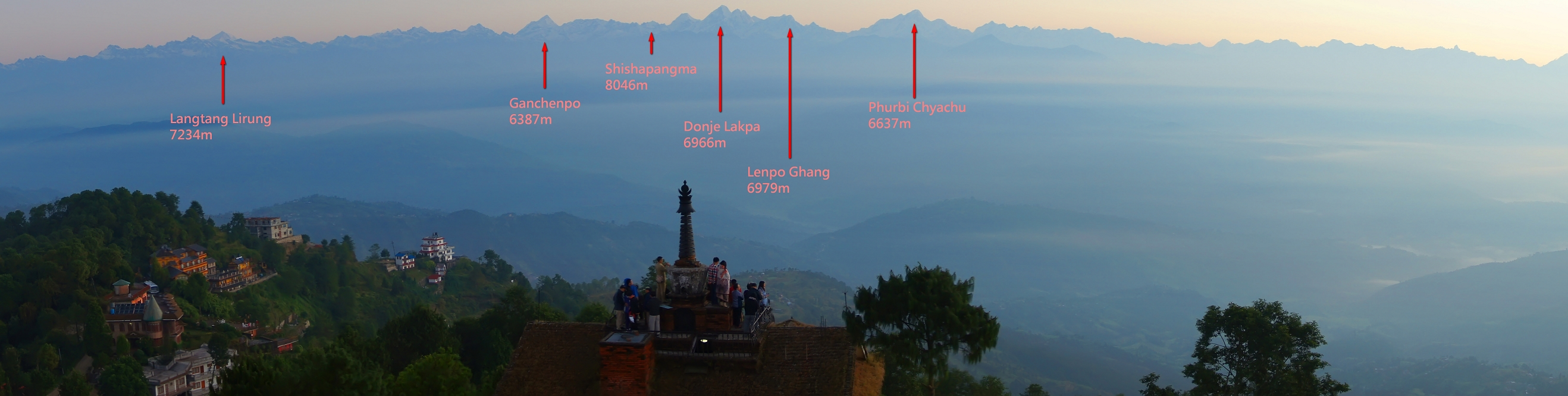 Nagarkot mountain view