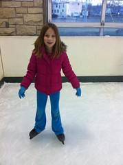 Rachel ice skating