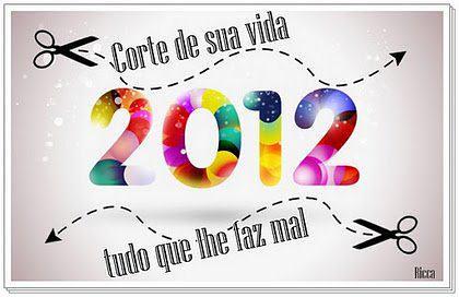 Feliz 2012.... by Pura Ideia Etiquetas de Tecido e Afins