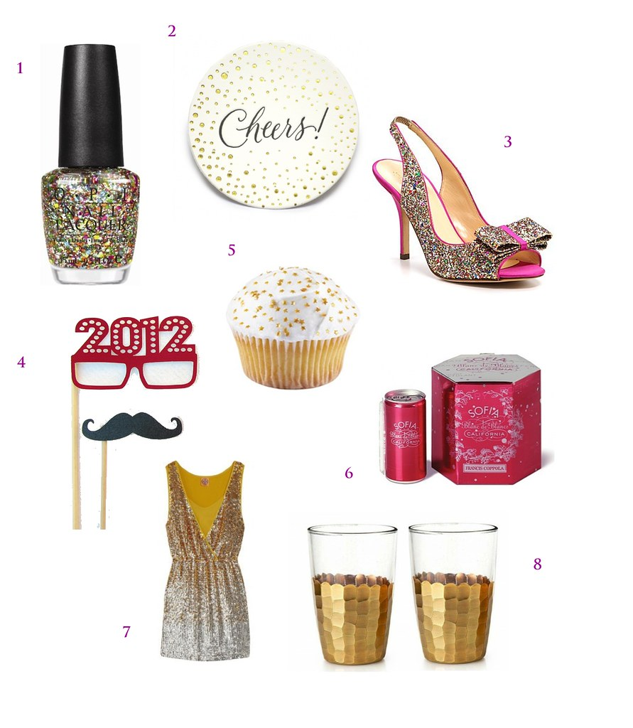 New Years Eve Pinboard