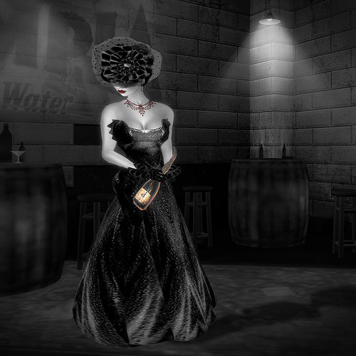 The Fashion Teller- MURDER, My Sweet Casting Contest ENTRY: Morgain LeFay by Fashion Teller