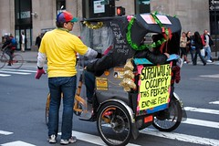 Occupy the Pedicab