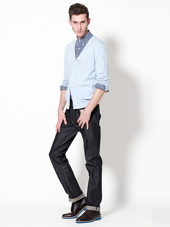 UNIQLO EARLY SPRING STYLE FOR MEN 2012_016Mathias Bilien