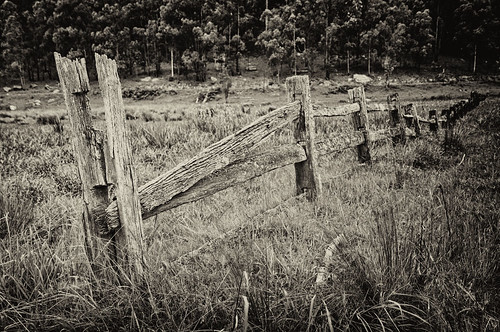 fence mono timber rustic cnet