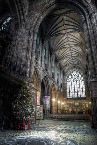 915/1000 - Chester Cathedral by Mark Carline